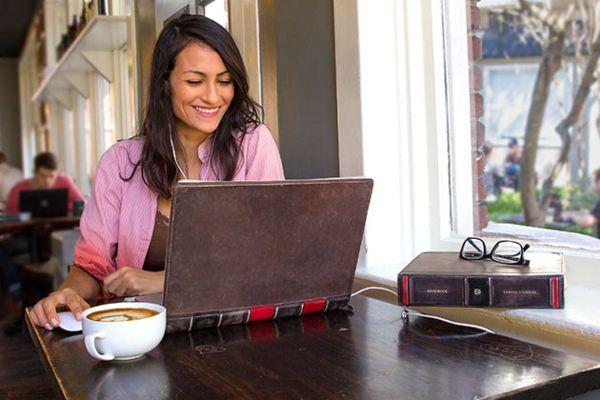 BookBook Travel Journal в качестве чехла для планшета