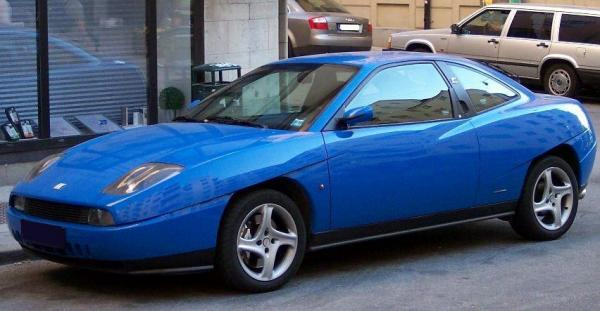 Футуристичный спорткар Fiat Coupe