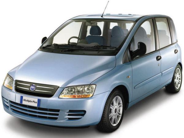 Обновленная версия Fiat Multipla