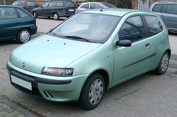 Второе поколение Fiat Punto