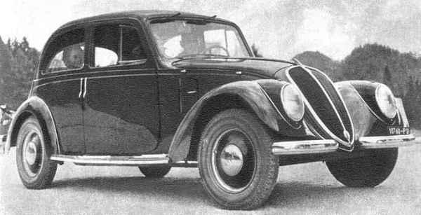 Fiat 1500: первый аэродинамический кузов