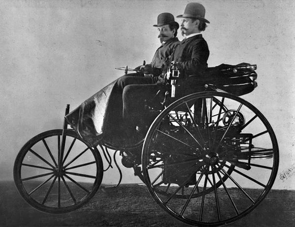Первый автомобиль Бенца - Motorwagen