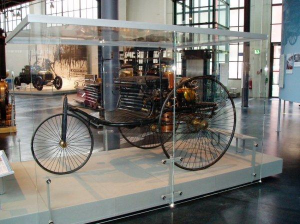 Benz Patent-Motorwagen в Немецком музее