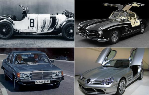 ТОП-10 самых известных моделей Mercedes-Benz