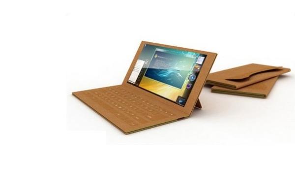Ноутбук с картонным корпусом