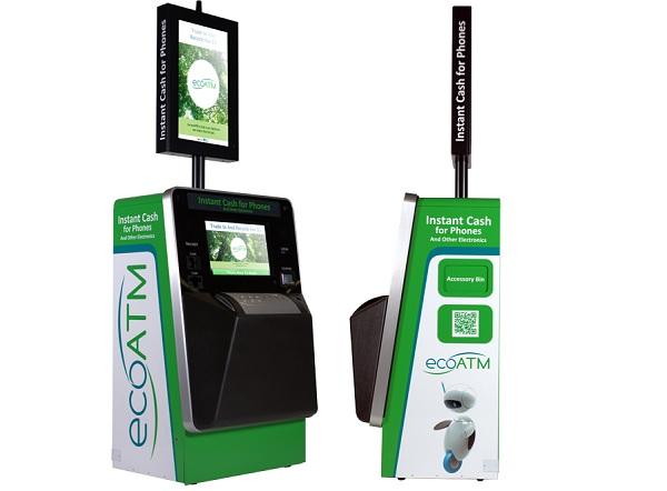 Автомат ecoATM, перерабатывающий электронные гаджеты