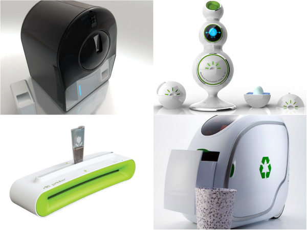 Обзор устройств, основанных на принципе переработки материалов