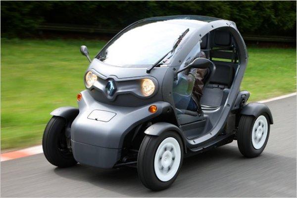 Экологичный и компактный Renault Twizy