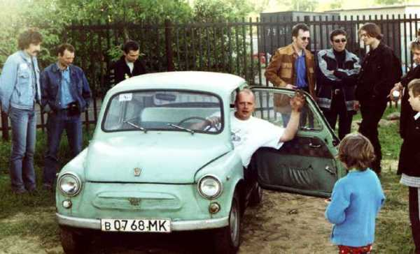Одна из главных достопримечательностей советского автопрома - ЗАЗ-965