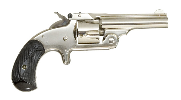 Model 1: первый в мире патронный револьвер