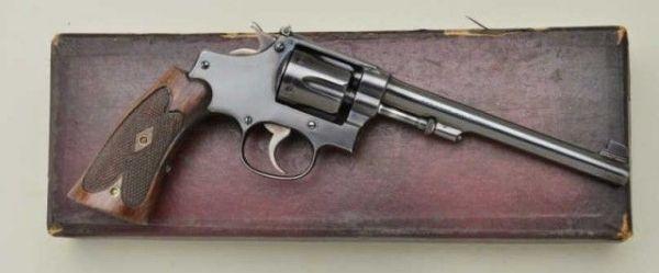 Надежный револьвер .22/32 Target Model
