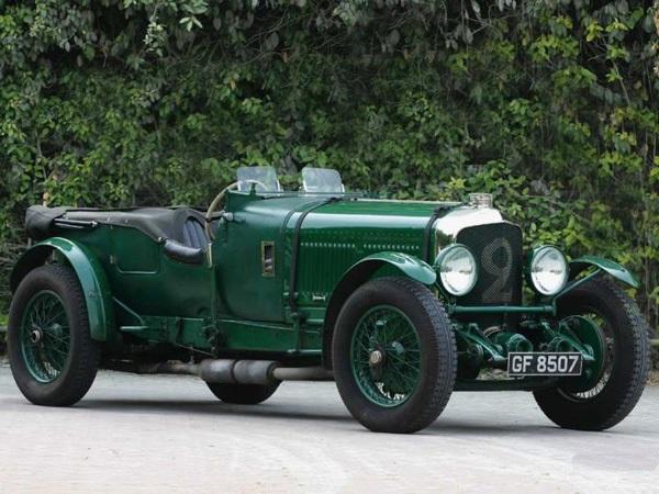 Bentley Speed Six 1930 - самый дорогой автомобиль 2004 года