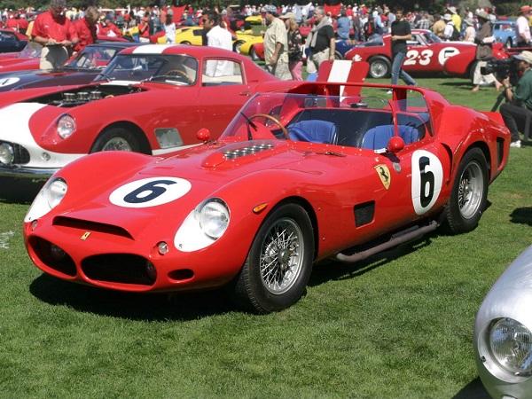 Ferrari 330 TRI/LM Testa Rossa Spyder - один из самых дорогих автомобилей всех времен