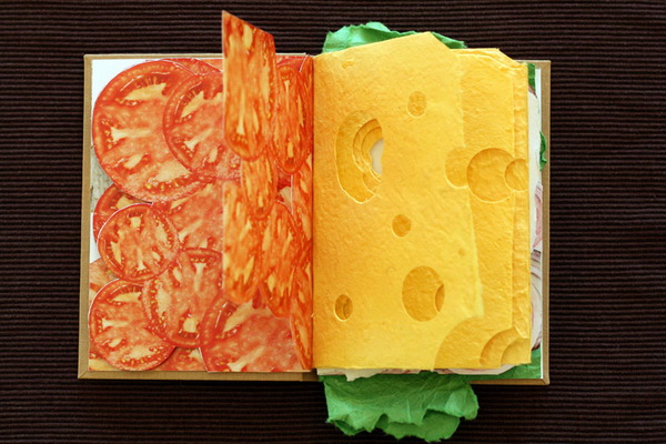 несъедобная книга-сэндвич от Pawel Piotrowski
