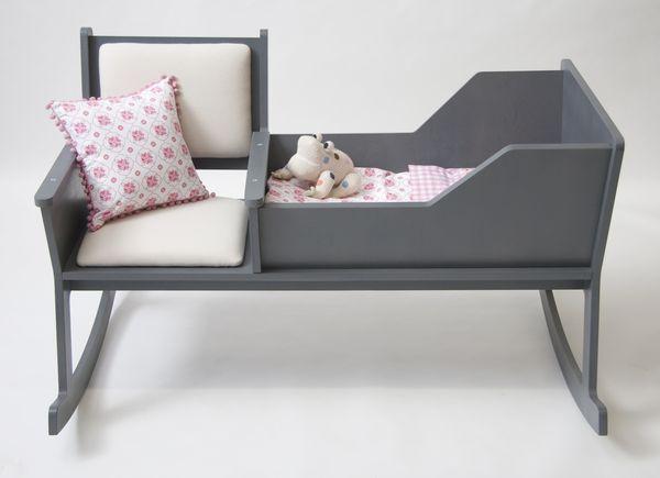 Rockid: кресло-качалка и колыбель