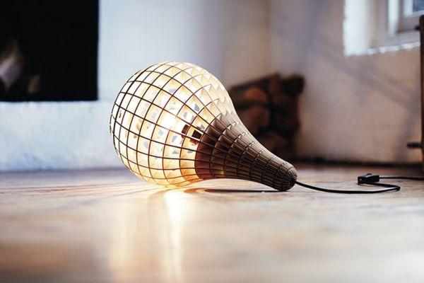 Коллекция деревянных светильников Hemmesphere