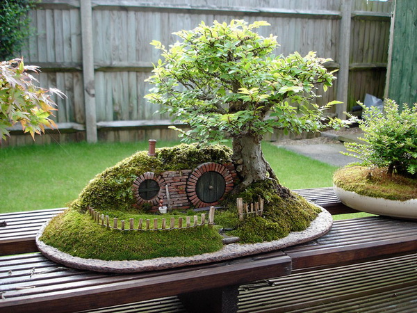 уютный домик для хоббитов
