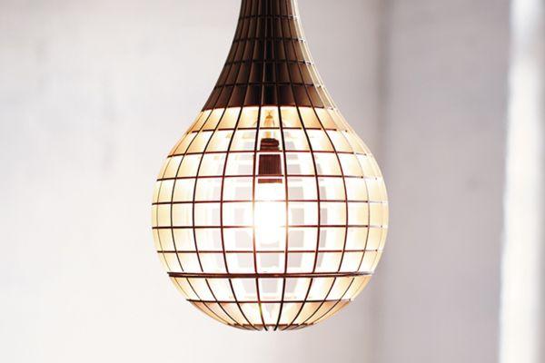 Деревянный светильник Hemmesphere