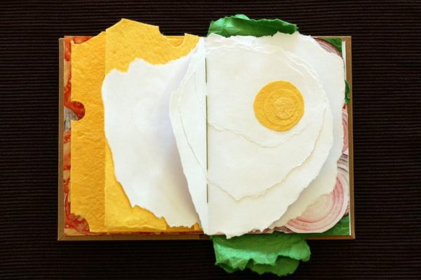 вкусная книга-сэндвич от дизайнера Pawel Piotrowski