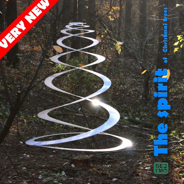Современная новогодняя ёлка в эко-проекте Юрия Цегла «The Spirit of Christmas tree.»