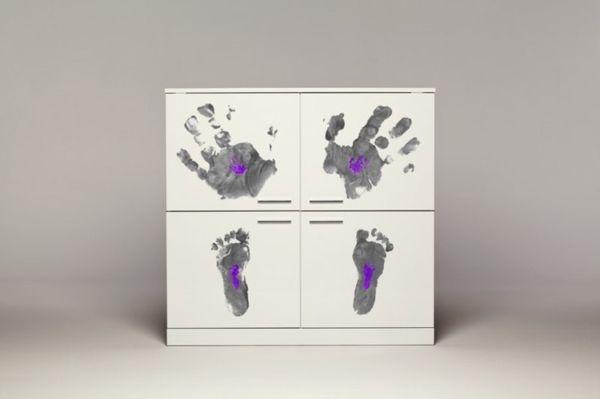 Andrea Magnani: шкафы с ручной росписью