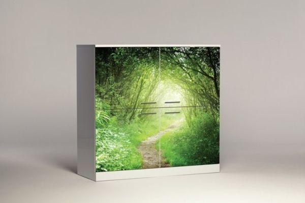 Уникальный шкаф от Andrea Magnani