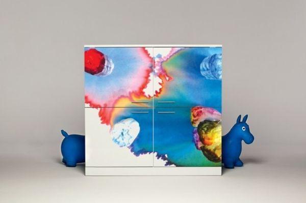 Красочная мебель от дизайн-студии Andrea Magnani