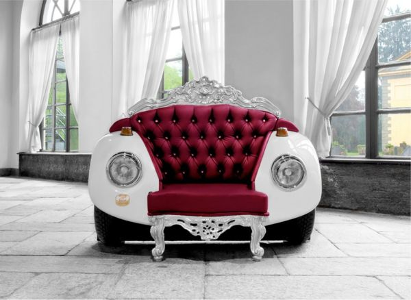 Кресло в стиле барокко Glamour Beetle