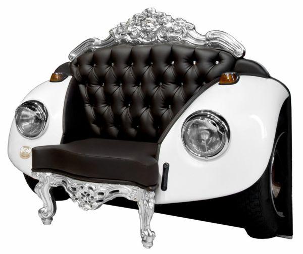 Glamour Beetle: роскошь и изящество в одном кресле