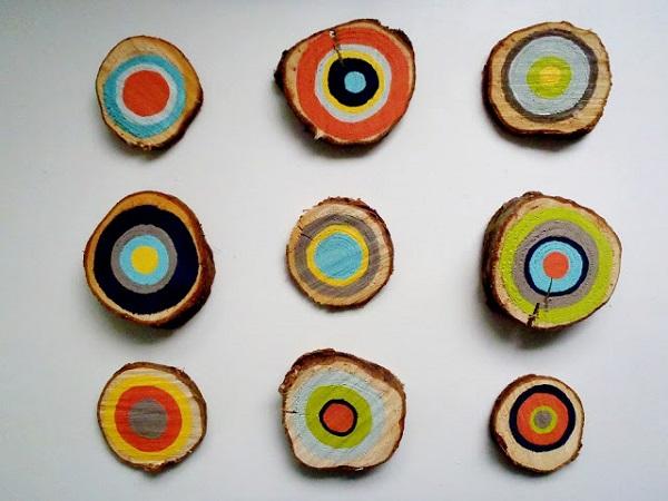 Настенный деревянный декор