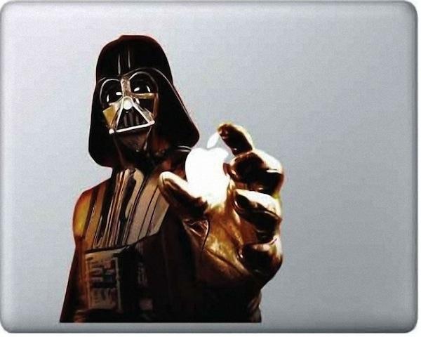 Наклейка на ноутбук Звездные войны