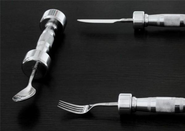 Проект Eat Fit: столовые приборы для фитнеса