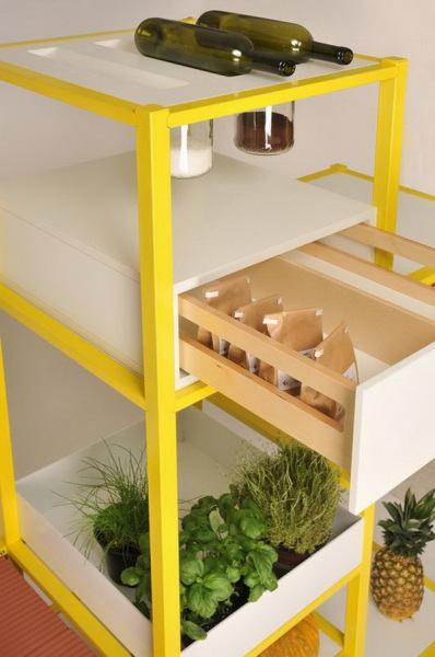 Кухонная система Food storage для сохранения свежести продуктов
