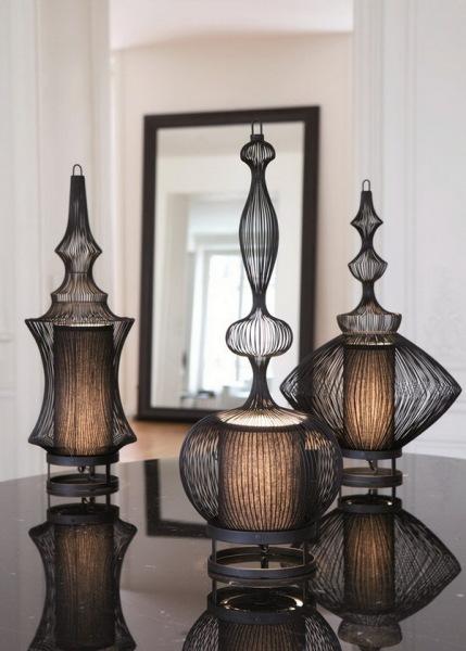 Коллекция оригинальных светильников Fil de fer
