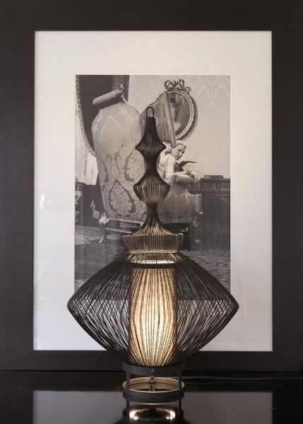 Изящные светильники «Fil de fer» от компании Forestier: волшебство превращения медной проволоки