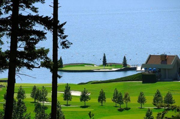 Поле для гольфа на озере Coeur d'Alene от Scott Miller