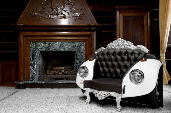 Glamour Beetle: кресло в стиле барокко