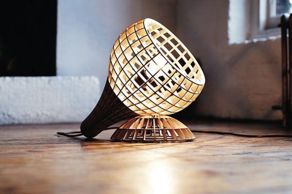 Светильники Hemmesphere из фанеры