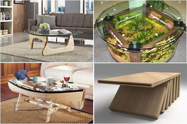 Оригинальные кофейные столики от современных дизайнеров