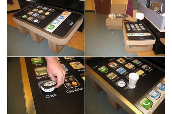 Кофейный столик-айфон