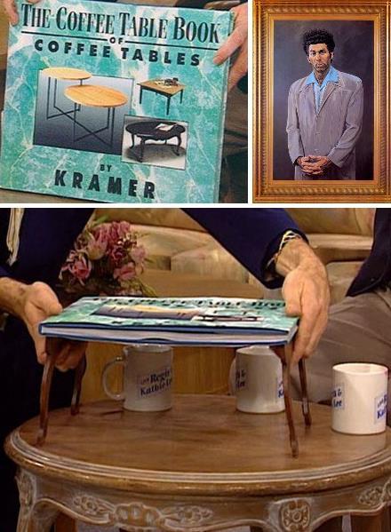 Кофейный столик из книги про столы