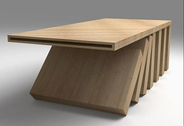 Кофейный столик канадской компании SIDD Fine Woodworking