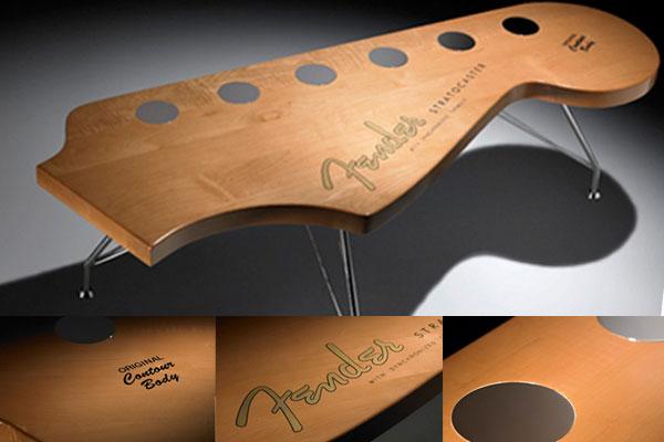 Кофейный столик от Fender Custom Furniture
