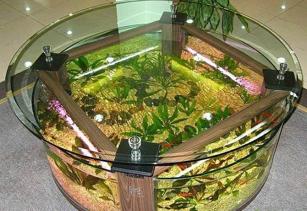 Столик-аквариум