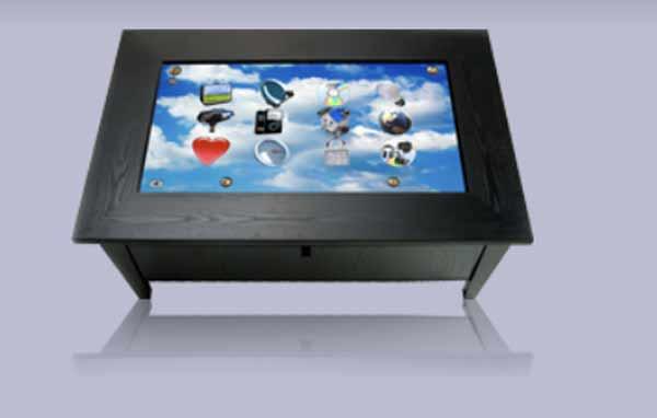 Интерактивный кофейный столик от ROSIE