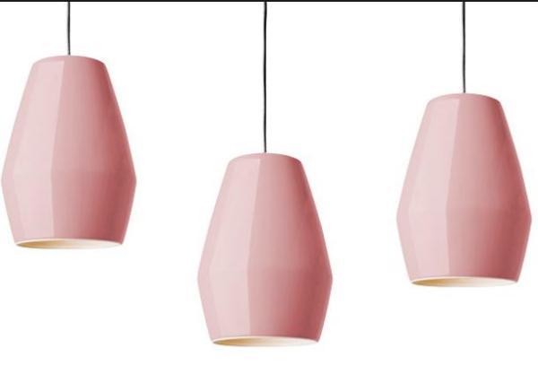 Фарфоровый светильник