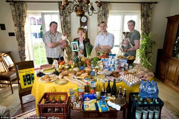 Семья из Люксембурга, 461 $ в неделю
