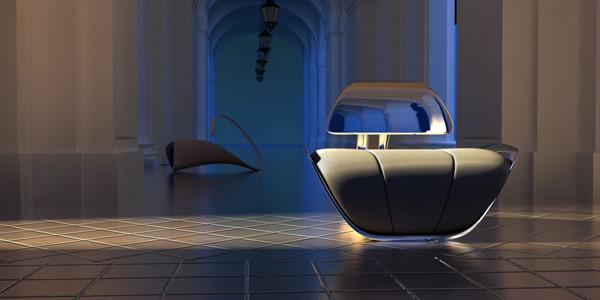 Serenad Chair - мебель в форме лебедя