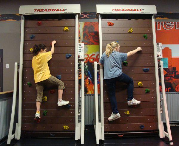 Climbing Wall Treadmil: дорожка для скалолазания