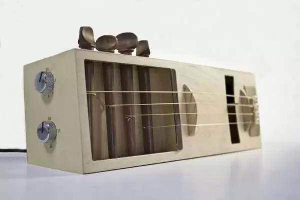 Acoustic Alarm – креативный будильник для любителей акустики